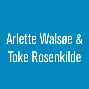 Arlette Walsøe og Toke Rosenkilde